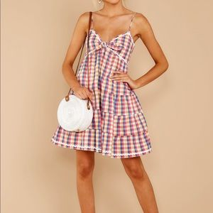 English Factory Dresses - Spin in Circles Multi Gingham dress